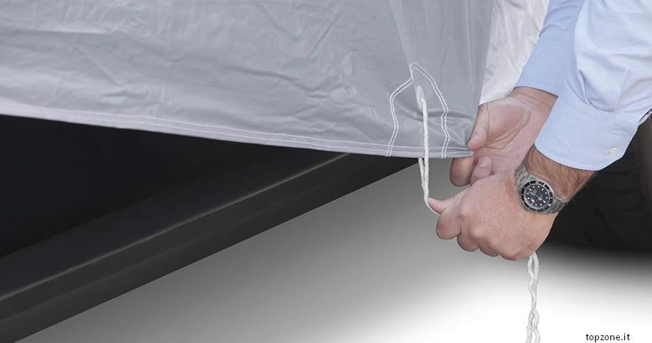 montaggio telo copriauto sumex cover 1s carplus