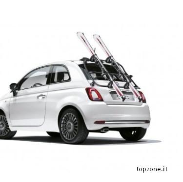 Portasci Fiat 500 4 Soluzioni Per Trasportare Gli Sci Con La 500