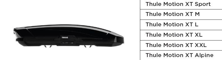 box tetto auto thule classe motion