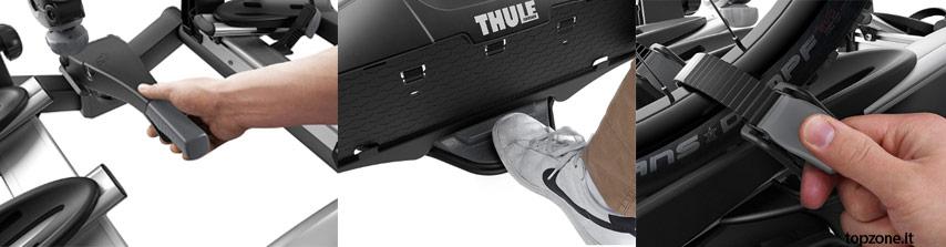 Thule 926002 Portabici Velocompact New 926 3 Bici