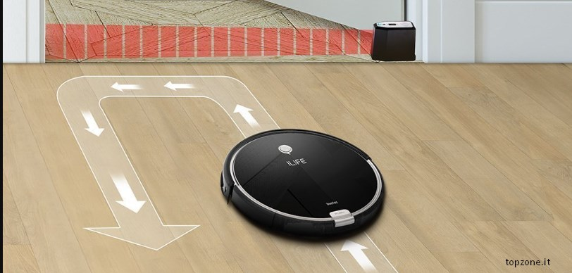 robot aspirapolvere ilife A6