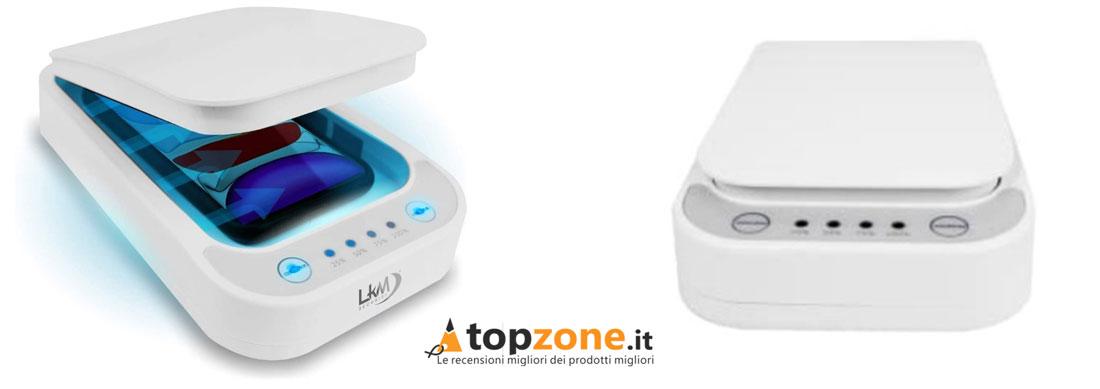 Box Sterilizzatore UV per Maschere e Telefoni bianco