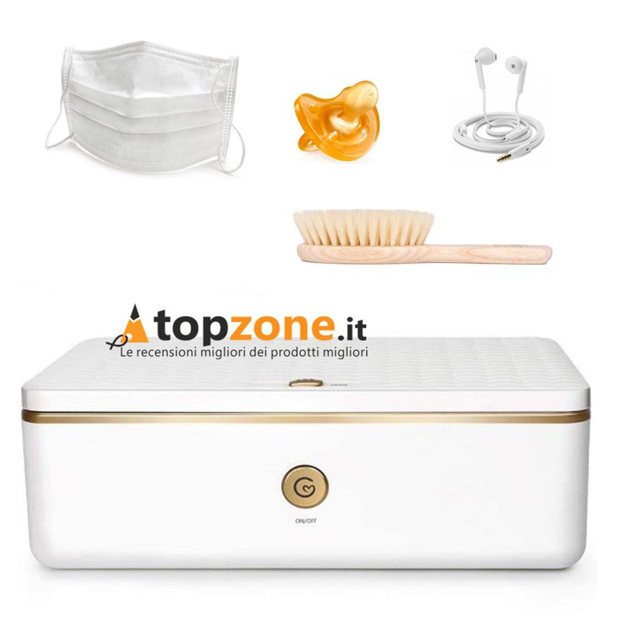 Sterilizzatore Deeabo Box Uv Ozono Bianco