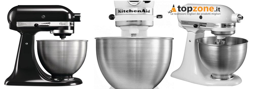 Impastatrice KitchenAid 5K45SSEWH Planetaria