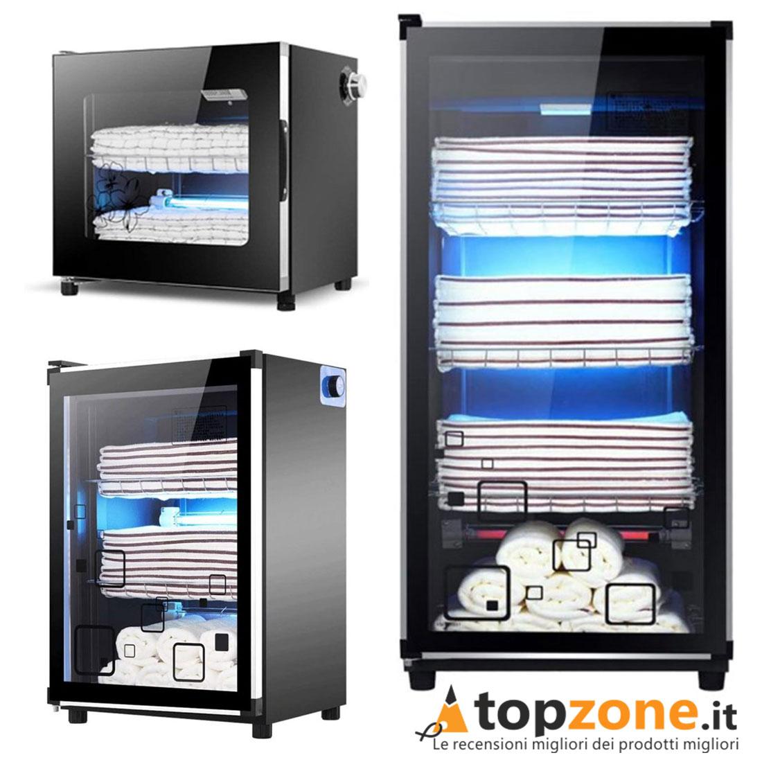 Sterilizzatore Ozono UV Armadio Piccolo Medio Grande